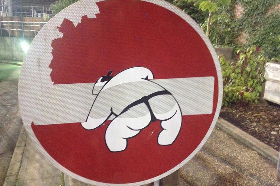 streetart_Clet_panneau